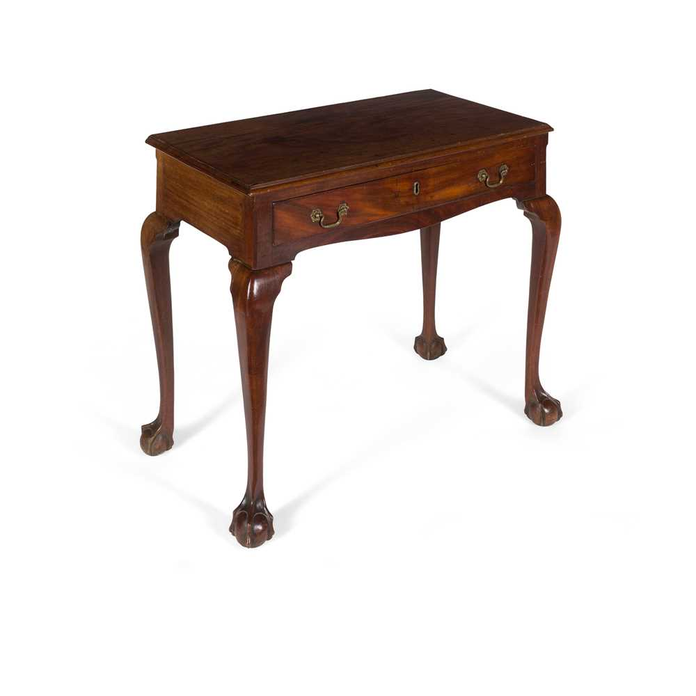 Lot 102 - LATE GEORGE II/ EARLY GEORGE III MAHOGANY SIDE TABLE