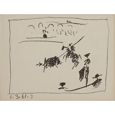 Lot 241 - PABLO  PICASSO  (SPANISH 1881-1973)