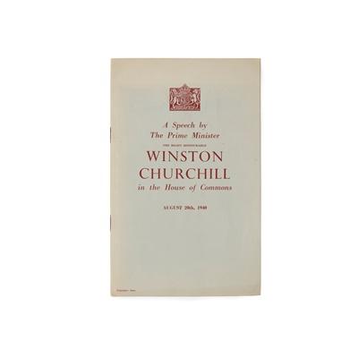 Lot 48 - Churchill, Sir Winston Spencer