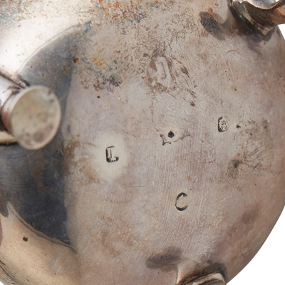 Lot 28 - MATCHED PAIR OF VICTORIAN CAULDRON SALTS