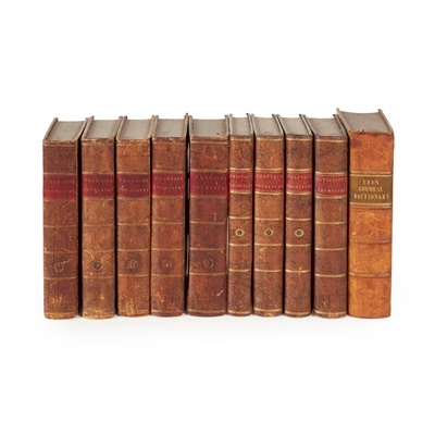 Lot 289 - Chemistry. 10 volumes