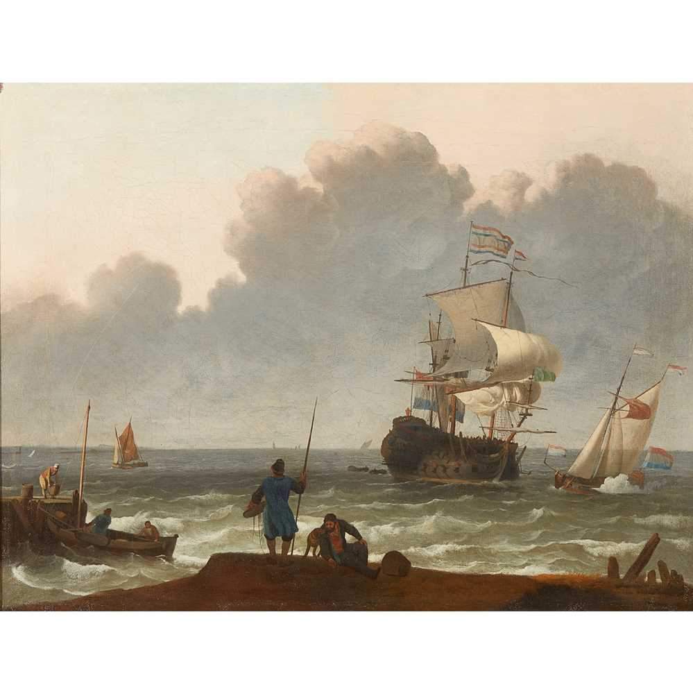 Lot 43 - ATTRIBUTED TO LUDOLPH BACKHUIZEN