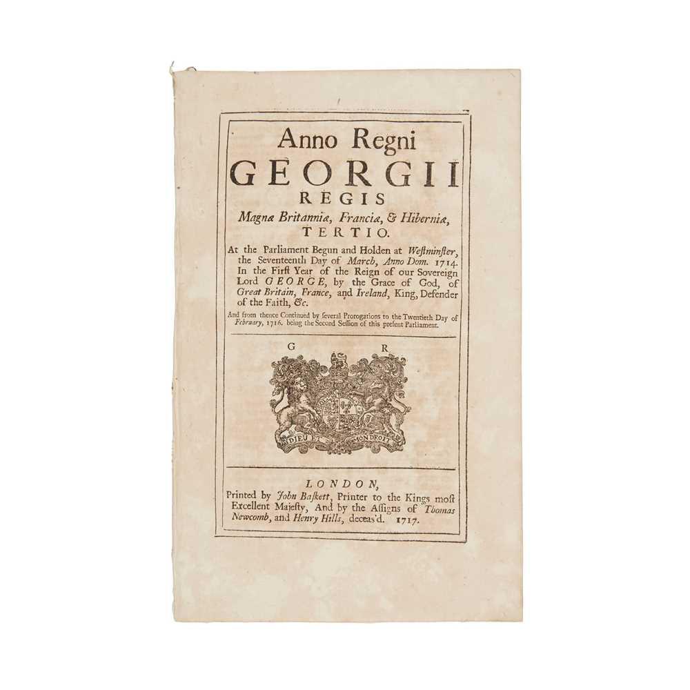 Lot 53 - Jacobite Rebellion, 1715