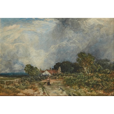 Lot 21 - SAM BOUGH R.S.A, R.S.W. (SCOTTISH 1822-1878)