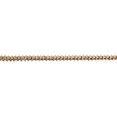 Lot 2 - A diamond set line bracelet