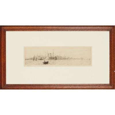 Lot 79 - WILLIAM LIONEL WYLLIE R.A. (BRITISH 1851-1931)