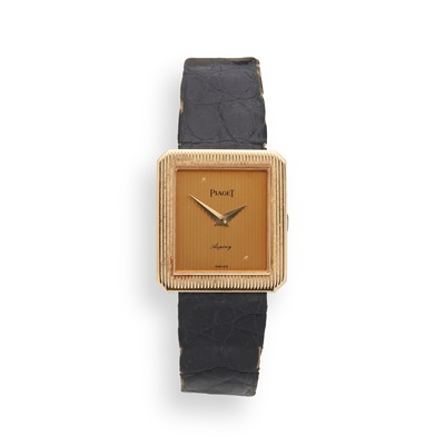 Lot 138 - Piaget: a lady's gold watch