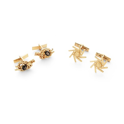 Lot 82 - Two pairs of cufflinks