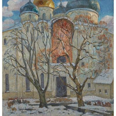 Lot 84 - LARISSA NOVIKOVA (RUSSIAN, LATTER TWENTIETH CENTURY)