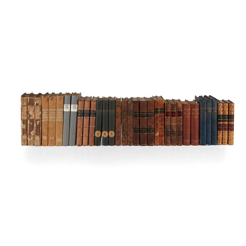 Lot 80 - 19th century 2 and 3 volume novels
