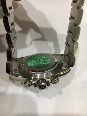 Lot 137 - Rolex: a gentleman's Daytona wrist watch