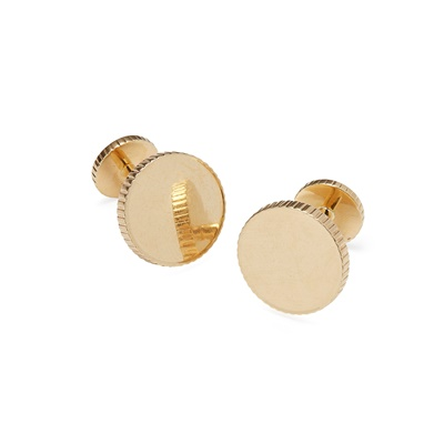 Lot 38 - A pair of gentleman's cufflinks, Tiffany & Co