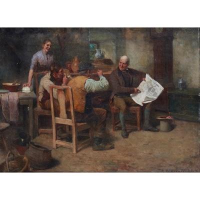 Lot 33 - ROBERT McGREGOR R.S.A. (SCOTTISH 1847-1922)