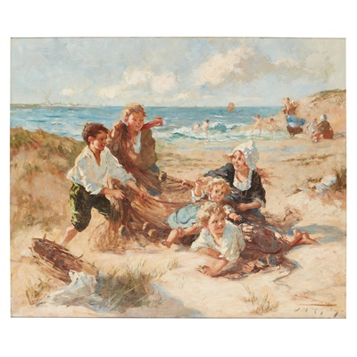 Lot 60 - JESSIE M. MCGEEHAN (SCOTTISH 1872-1961)