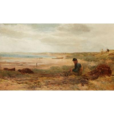 Lot 32 - JAMES DOCHARTY A.R.S.A (SCOTTISH 1829-1878)