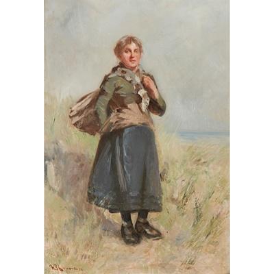 Lot 54 - WILLIAM BRADLEY LAMOND R.B.A. (SCOTTISH 1857-1924)