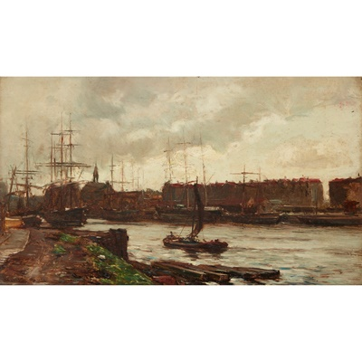 Lot 24 - JAMES CAMPBELL NOBLE R.S.A (SCOTTISH 1846-1913)