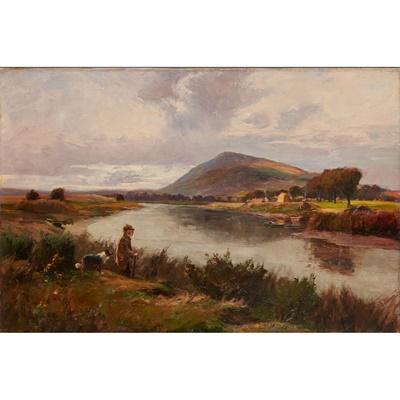 Lot 43 - WILLIAM BRADLEY LAMOND R.B.A. (SCOTTISH 1857-1924)