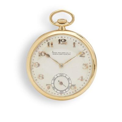 Lot 149 - Patek Philippe: a gold pocket watch