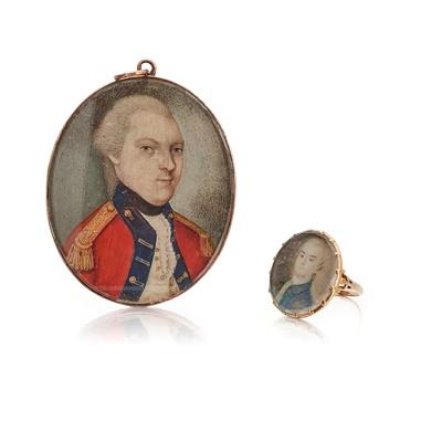 Lot 20 - A portrait miniature