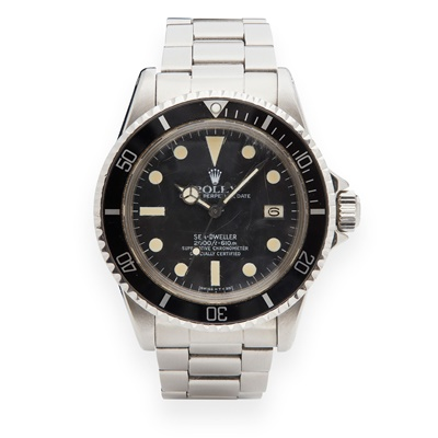 Lot 134 - Rolex: a gentleman's Sea-Dweller 'Great White' wrist watch