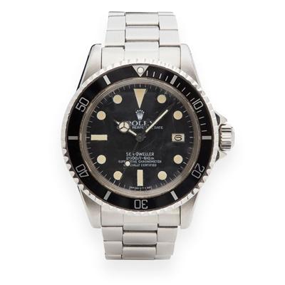Lot 149 - Rolex: a Sea-Dweller 'Great White' wrist watch