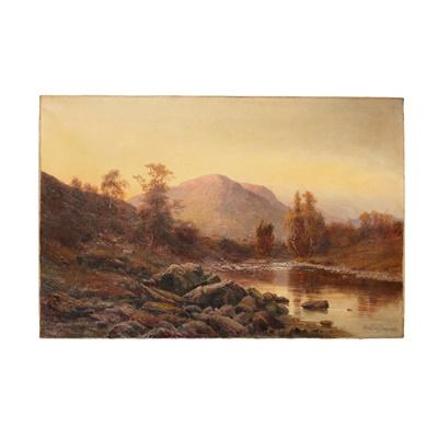 Lot 31 - ALFRED DE BREANSKI SENIOR (BRITISH 1852-1928)