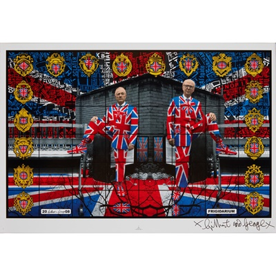 Lot 292 - GILBERT AND GEORGE  (BRITISH CONTEMPORARY)