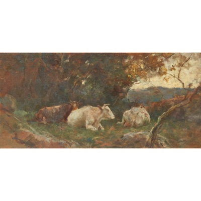 Lot 161 - ARTHUR LEMON (BRITISH 1850-1912)