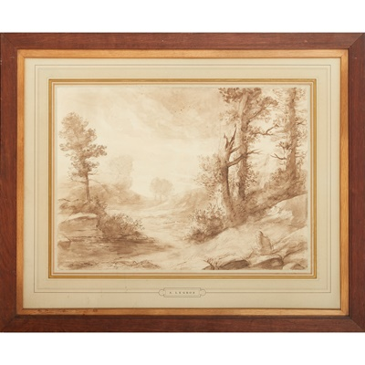 Lot 15 - ALPHONSE LEGROS (FRENCH 1837-1911)