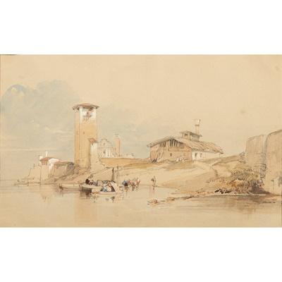 Lot 164 - WILLIAM LEIGHTON LEITCH R.I. (SCOTTISH 1804-1883)