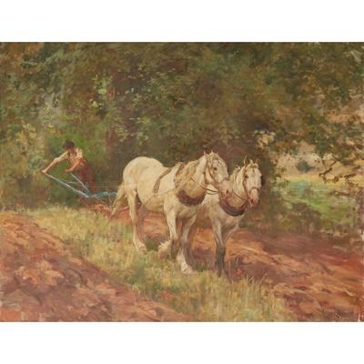 Lot 160 - ARTHUR LEMON (BRITISH 1850-1912)
