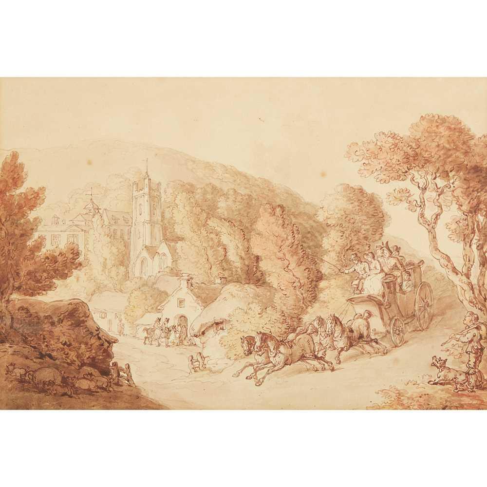 Lot 30 - THOMAS ROWLANDSON (BRITISH 1756-1827)