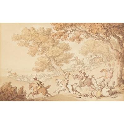 Lot 31 - THOMAS ROWLANDSON (BRITISH 1756-1827)