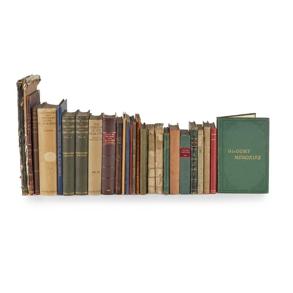 Lot 51 - Highland Clearances and Economy & Colonsay and Oronsay