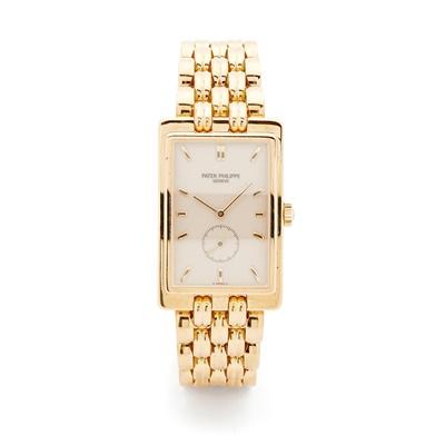 Lot 139 - Patek Philippe: a gentleman's gold watch