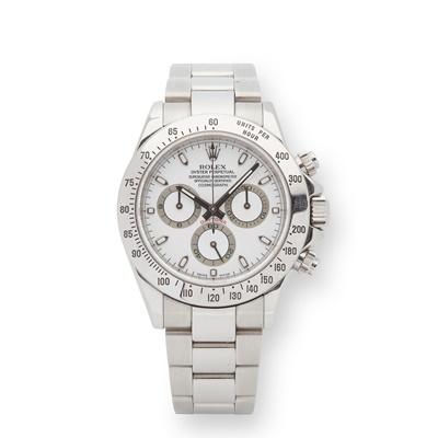 Lot 127 - Rolex: a gentleman's Daytona wrist watch