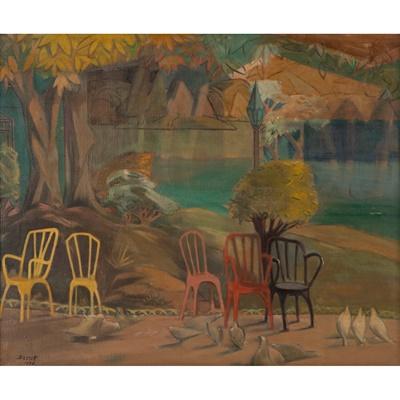 Lot 82 - Bassett Fitzgerald Wilson (British 1888-1972)