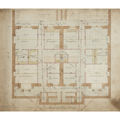 Lot 8 - Designs by George Rae and Jesse Hall