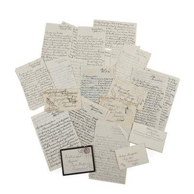 Lot 104 - Campaigns in Egypt and India