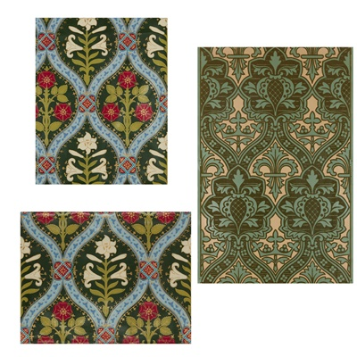 Lot 500 - COLE & SON, AFTER A.W.N. PUGIN