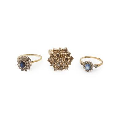 Lot 164 - Three gem-set rings