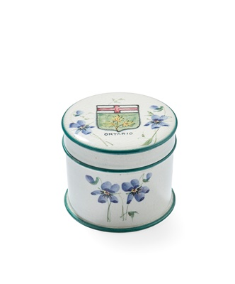 Lot 96 - AN UNUSUAL AND RARE WEMYSS WARE POMADE