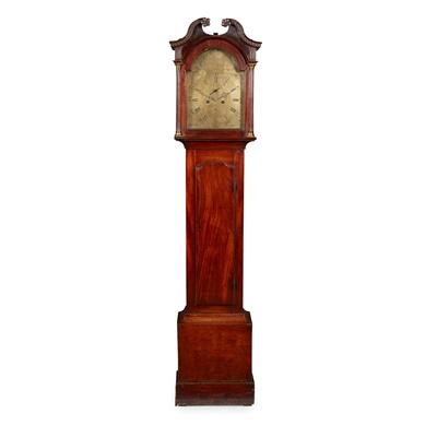 Lot 14 - A SCOTTISH GEORGE III LONGCASE CLOCK BY JOHN SMITH, PITTENWEEM