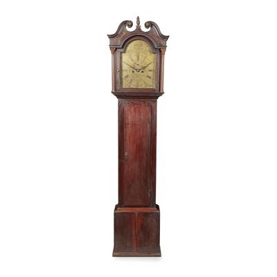 Lot 13 - A SCOTTISH GEORGE III LONGCASE CLOCK BY DAVID HILL, EDINBURGH
