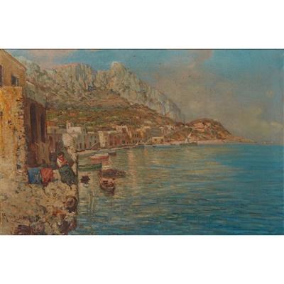 Lot 69 - GIUSEPPE GIARDIELLO (ITALIAN 1877-1920)