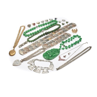 Lot 178 - A collection of gem-set and other jewellery