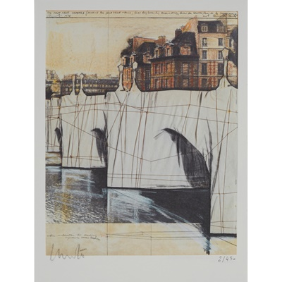 Lot 212 - CHRISTO AND JEANNE-CLAUDE (AMERICAN 1939-2020)