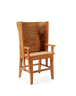 Lot 58 - A SMALL ORKNEY CHAIR