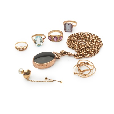 Lot 192 - A collection of gem-set jewellery